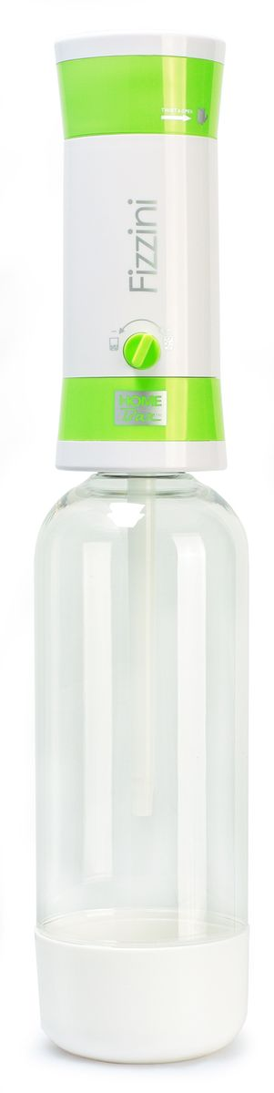"""Набор Home Bar """"Fizzini NG"""", выполненный из пластика, состоит из сифона и 10 баллонов. Он предназначен для газирования чистой охлажденной воды. Не требует электроэнергии. Для приготовления напитка сироп рекомендуется наливать в отдельную емкость. Сифон снабжен ручкой для регулирования насыщенности газа и двойной защитой (предохранительный клапан и кнопка сброса давления). Рекомендуемая температура воды 5°С. Подходит для 1 л и 1,5 л бутылки. Комплект: Сифон, баллоны 8 г / 10 шт. Объем сифона: 1 л. Баллон: 10 шт. Вес баллона: 8 г."""