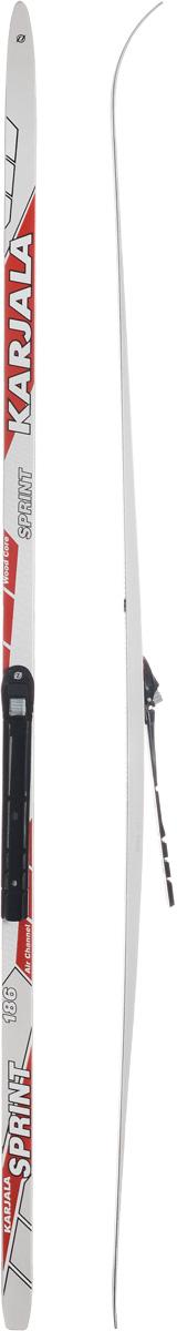 Лыжи беговые Karjala Sprint Step, с креплением NNN, цвет: белый, серый, красный, рост 186 см43439_р.186Беговые лыжи Karjala Sprint Step предназначены для активного катания и прогулок по лыжне классическим стилем. Технология CAP позволяет увеличить прочность лыж, их долговечность и надежность. Обеспечивает большую жесткость на скручивание и облегченный вес. Сердечник изготовлен из дерева. Скользящая поверхность - экструдированый полиэтилен низкого давления ПЭНД, обладающий высокой степенью защиты от царапин и вмятин. Крепления изготовлены из морозоустойчивого пластика и стали. Имеют автоматическое пристегивание. Флексор жесткости заменяем. Две направляющие.Геометрия: 46-46-46.Рост: 186 см.