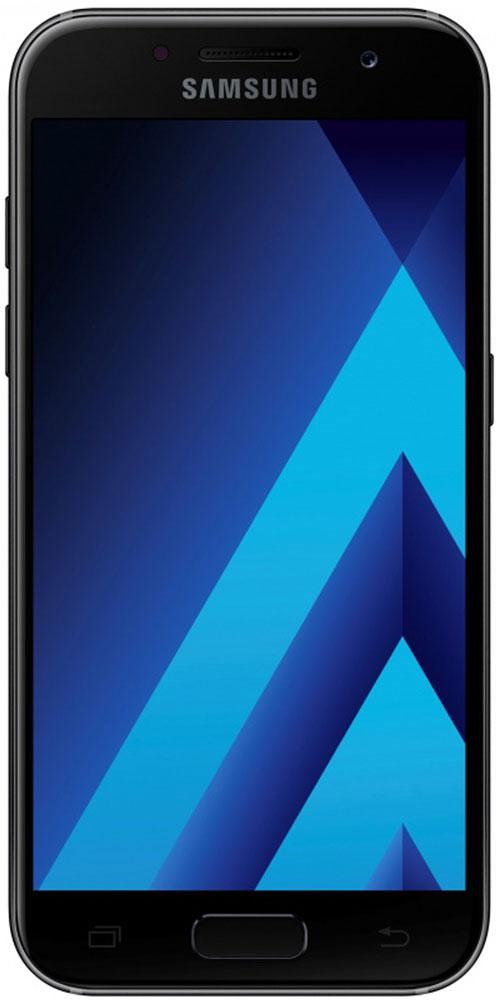 Samsung SM-A520F Galaxy A5 (2017), BlackSM-A520FZKDSERСовременный минималистичный корпус из 3D-стекла и металла, а также 5,2-дюймовый экран FHD sAMOLED - все это отличительные черты Galaxy A5 (2017).Плавные линии корпуса, отсутствие выступов камеры, утонченная и элегантная отделка позволяют получить настоящее удовольствие от использования смартфона.Будьте законодателями трендов, а не просто следуйте им. Стильные цветовые решения идеально гармонируют с корпусом из стекла и металла, создавая динамичный и цельный образ. Четыре модных цвета на выбор превосходно дополнят ваш стиль.Благодаря высокому разрешению основной камеры в 16 Mп фотографии всегда будут яркими и красочными. Вместе с Galaxy A5 (2017) почувствуйте себя профессиональным фотографом. Наличие широкого выбора фильтров позволяет подойти к процессу съемки более креативно. Теперь каждая фотография будет особенной.Где бы вы ни находились - на вечерней прогулке или в ночном клубе - ваши фотографии будут идеальными. Камера автоматически адаптируется даже к условиям недостаточной освещенности, а дисплей выполняет роль вспышки. Благодаря Smart-кнопке снимать селфи стало просто. Все, что нужно - выбрать расположение кнопки затвора на экране.Стандарт защиты от воды и пыли IP68 позволяет комфортно использовать смартфоны Galaxy A5 (2017) в любых условиях - будь то дождь или бассейн.Наслаждайтесь играми или просмотром видео еще дольше благодаря увеличенному объему аккумулятора и поддержке технологии быстрой зарядки.Все любимые видео, фото и музыка всегда с вами благодаря поддержке карт памяти объемом до 256 ГБ, а наличие разъема для 2-ух SIM-карт позволяет легко менять оператора во время путешествий.С функцией Always On Display вся актуальная информация всегда на экране. Просматривайте время, события в календаре и непрочитанные уведомления даже если смартфон находится в спящем режиме.Храните конфиденциальную информацию в защищенной папке. Благодаря безопасной среде KNOX вы можете быть уверены, что ваша личная информация