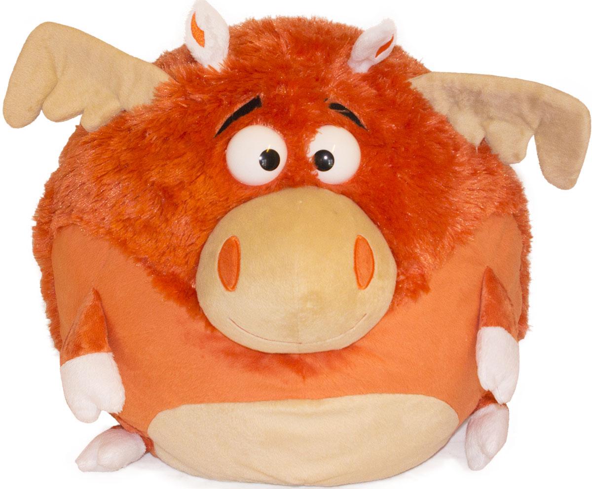 Gulliver Мягкая игрушка Лось Авось 20 см лазарева и лось в облаке