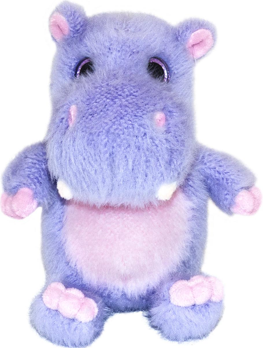 Gulliver Мягкая игрушка Бегемотик Нини 15 см gulliver игр мягкая полярный мишка лежачий 30см