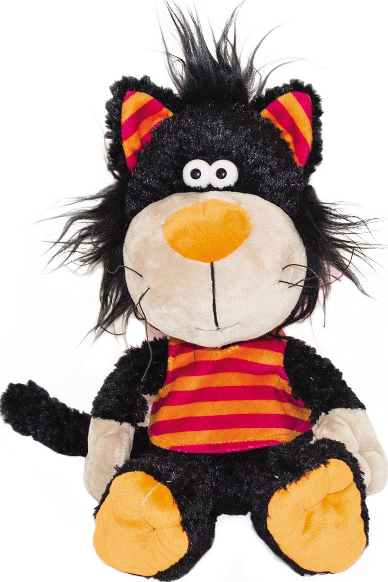 Gulliver Мягкая игрушка Кот Черныш 22 см игрушка мягкая gulliver пушистый хвостик белочка 30см