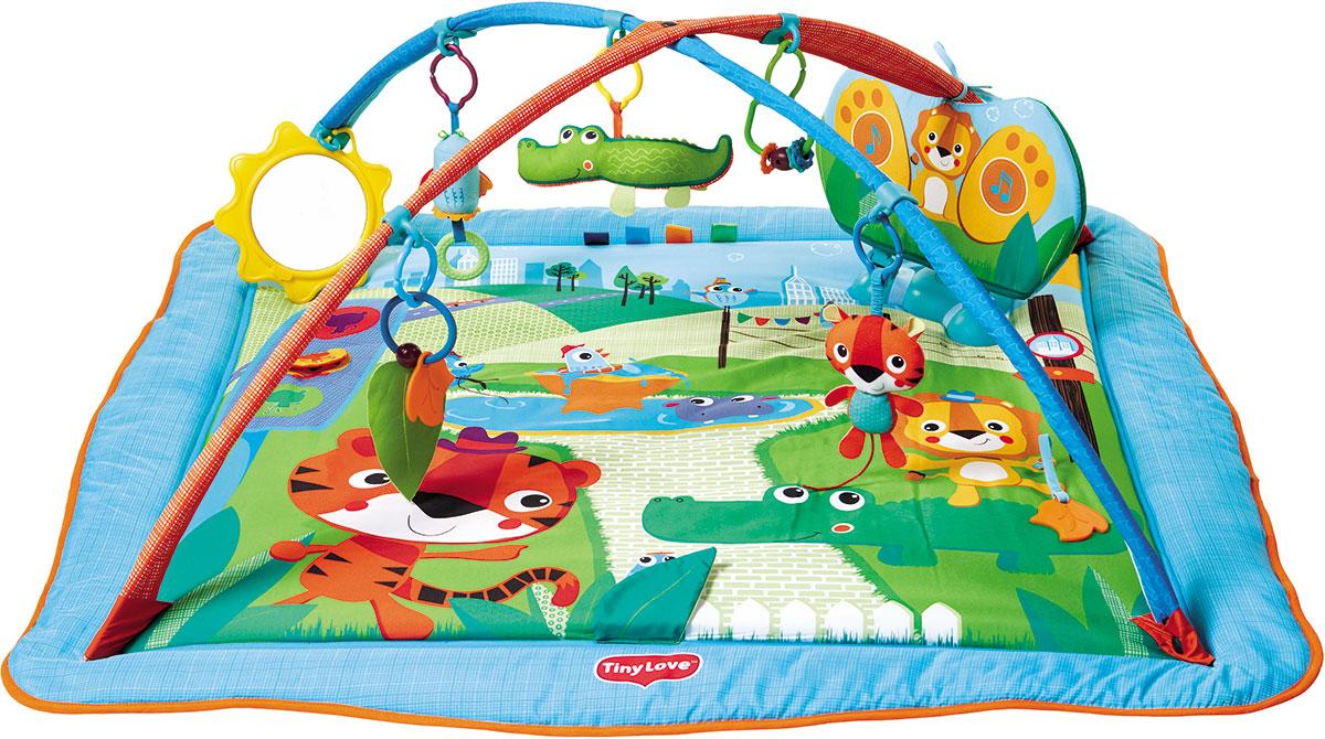 tiny love развивающий коврик разноцветное сафари tiny love Tiny Love Развивающий коврик Городское сафари