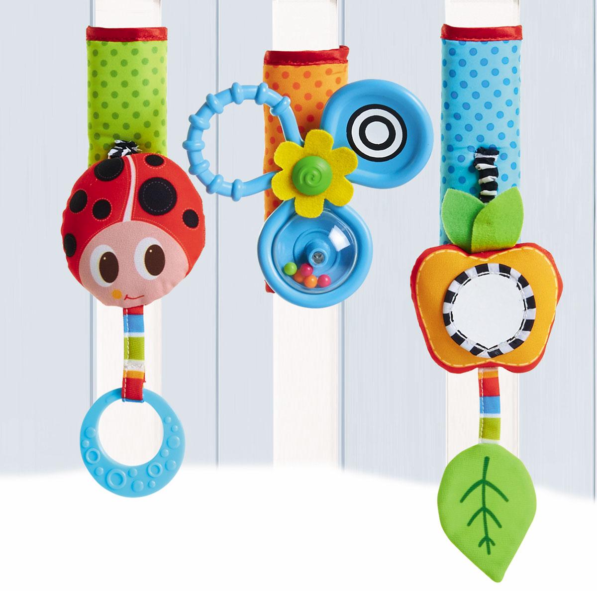 Tiny Love Развивающая игрушка Летняя поляна на липучке бк 04 магнит божья коровка 35мм 780420