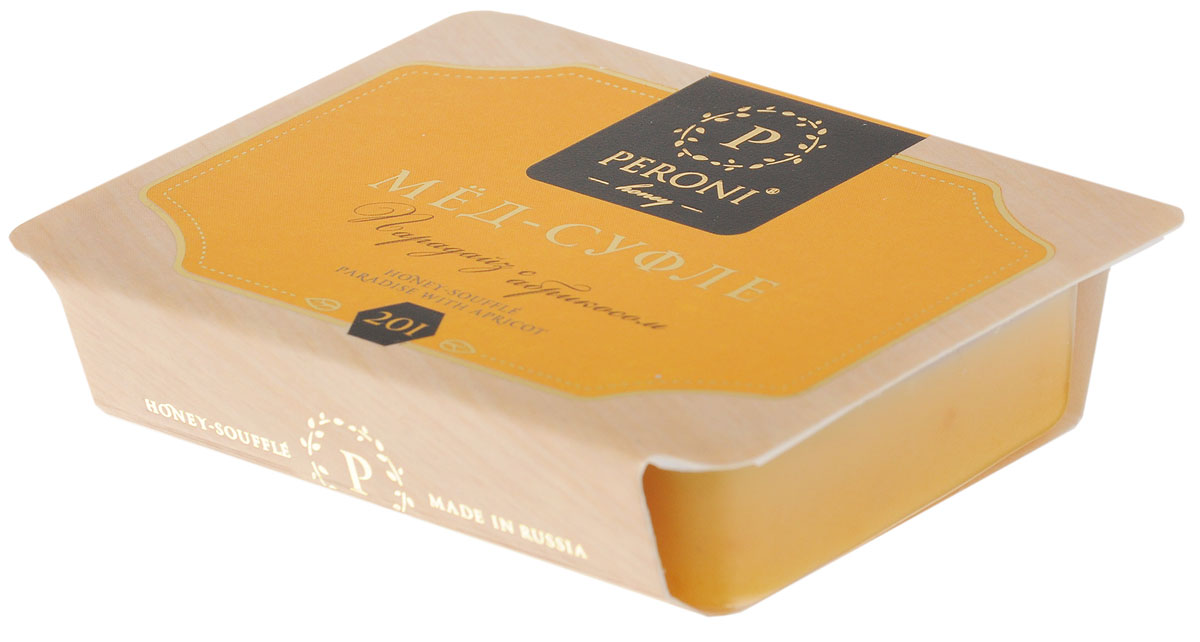 Peroni Парадайз с абрикосом мед-суфле порционный, 2 шт по 25 г peroni молочный цветок мед суфле 30 г