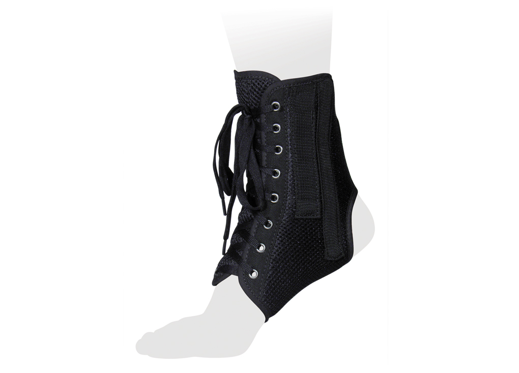 Ttoman Бандаж на голеностопный сустав со шнуровкой и ребрами жесткости AS-ST. Размер 2/MAS-ST MОсобенности:• 4 съемных моделируемых металлических ребра жесткости • регулировка на шнуровке • подходит для ношения в свободной обуви • воздухо- и влагопроницаемый материал• цвет: черныйПоказания к применению:• хроническая нестабильность голеностопного сустава• растяжения и разрывы связок голеностопного сустава• реабилитация после травм и операций• травмы лодыжекИзмерения размера производить в области окружности над лодыжкой.XS 14-17; S 17-20; M 20-23; L 23-26; XL 26-29