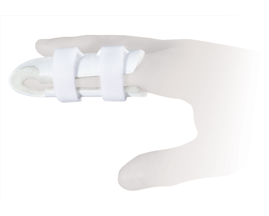 Ttoman Бандаж для фиксации пальца FS-004. Размер 1/SFS-004-D SОсобенности: пластик фиксирующая лента на застежке Велкро мягкая прокладка под палецразмеры: S - 5,7 см, M - 6,7 см (один фиксатор «велкро»), L - 7,7 см, XL - 9 см (два фиксатор «велкро») Показания к применению: травмы фаланговых суставов пальца Состав: нейлон - 100% пластик