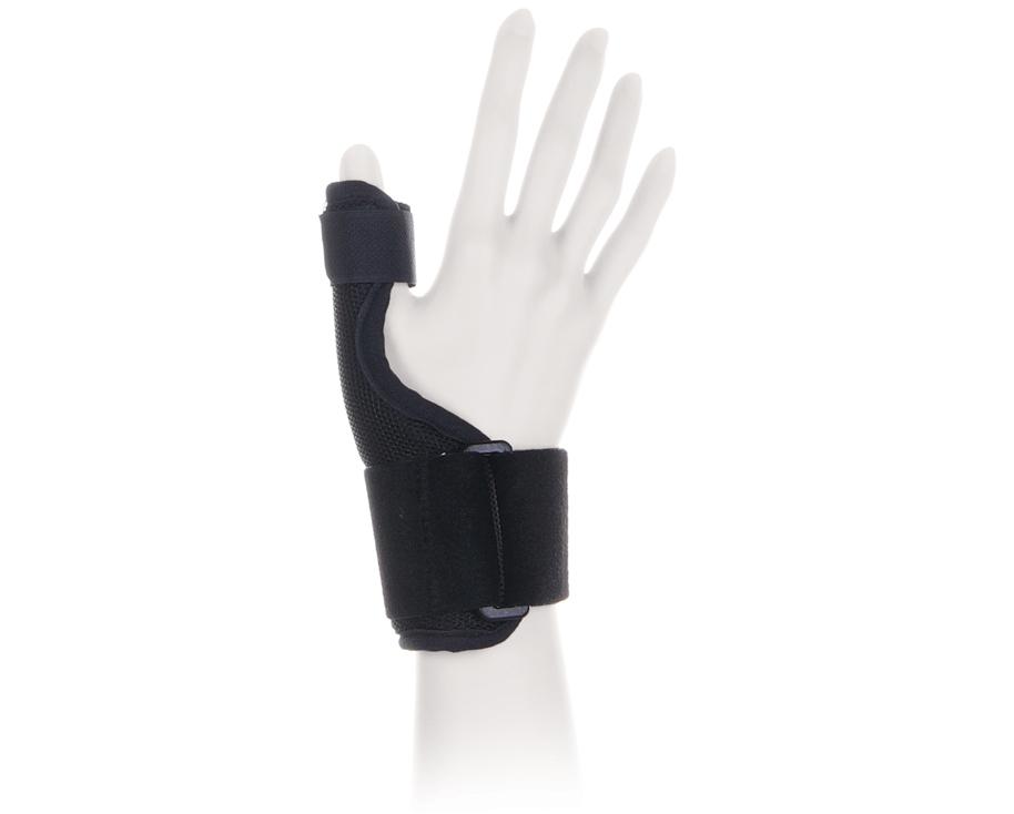 Ttoman Бандаж для фиксации большого пальца руки FS-101. Размер 1/SFS-101 SОсобенности:фиксирующая лентамоделируемая металлическая вставка универсальный (на левую и правую руку)размеры: S, M, L, XL Показания к применению:стабилизация сустава большого пальца, перегрузки, воспаления сухожильного-связочного аппаратаможет применяться как в профилактических, так и в лечебных целяхСостав:нейлон - 40%хлопок - 35%эластан - 25%S окружность лучезапястного сустава 15-18смM окружность лучезапястного сустава 18-22смL окружность лучезапястного сустава 22-26смXL окружность лучезапястного сустава 26-30см