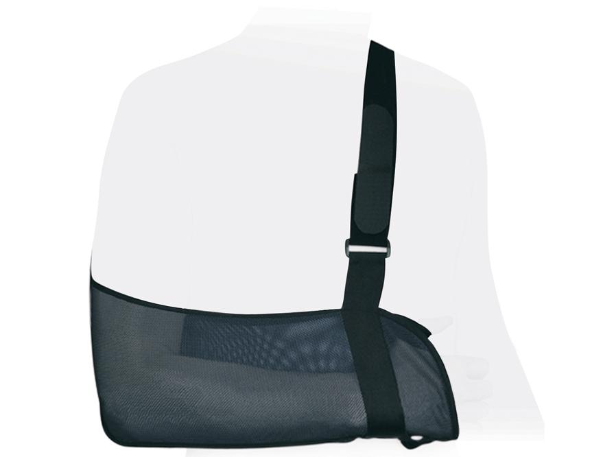 Ttoman Бандаж на плечевой сустав (косынка) SB-02. Размер 2/MSB-02 MОсобенности:• воздухо- и влагопроницаемый материал • мягкая манжета на плечевом ремне• петелька для большого пальца руки для более комфортного использования косынки • регулируемая длина ремня• универсальный, подходит для левой и правой руки • цвет: черныйПоказания к применению:• поддержка при переломах руки• подвывихи, вывихи плеча• ушибы плеча, предплечья, кисти• частичные повреждения связок плечевого сустава, акромиально-ключичного сочленения, локтевого сустава• парезы и параличи верхней конечности• артриты, артрозы плечевого сустава, плечелопаточные периартритыИзмеряется длина предплечья от вершины локтевого отростка до середины кисти:XXS до26; XS 26-29; S 29-32; M32-35; L 35-38; XL>38