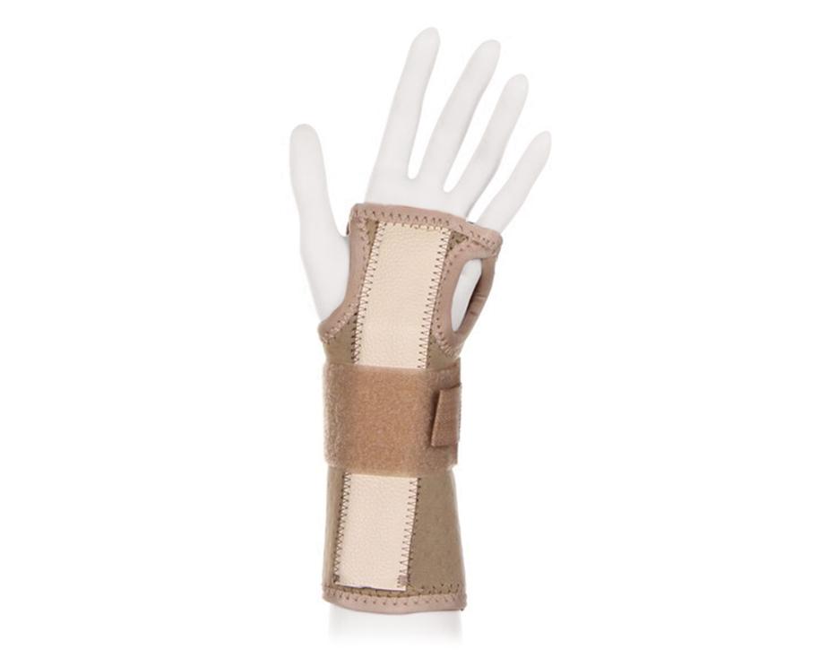 Ttoman Бандаж на лучезапястный сустав без фиксации большого пальца WS-LT. Размер 7/XXXLWS - LT (XXXL)Особенности:воздухо- и влагопроницаемый материал моделируемая металлическая вставка подходит для правой и левой руки цвет: бежевый Показания к применению:растяжения связок лучезапястного суставаконтрактуры лучезапястного суставаревматоидный артриттуннельный синдромСостав:аэропрен - 48%хлопок - 15%эластан - 21%нейлон - 8%лайкра - 8%XS(детский) окружность лучезапястного сустава 10-14смS окружность лучезапястного сустава 14-15смM окружность лучезапястного сустава 15-16смL окружность лучезапястного сустава 16-17смXL окружность лучезапястного сустава 17-19смXXL окружность лучезапястного сустава 20-22см3XL окружность лучезапястного сустава 22-24см