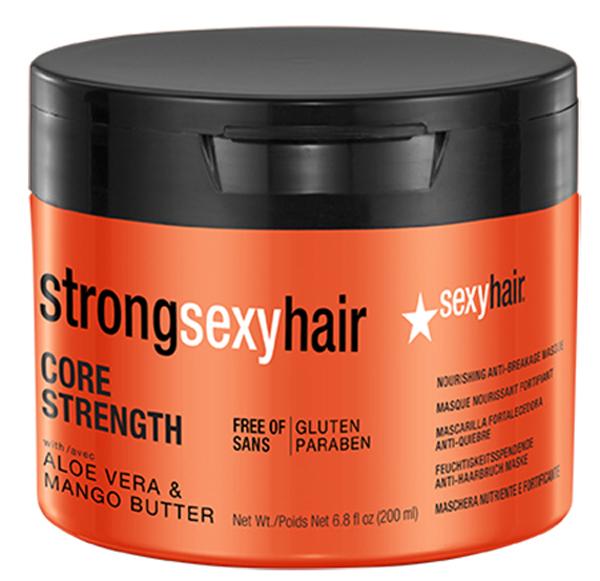 Sexy Hair Маска восстанавливающая для прочности волос Strong, 200 мл43CS06Интенсивно питает и увлажняет, восстанавливает гидролипидный баланс структуры волос. Возвращает волосам силу и прочность, делает их более мягкими и управляемыми. Защищает от повседневных повреждений. Используйте один раз в неделю для максимального восстановления структуры волос.