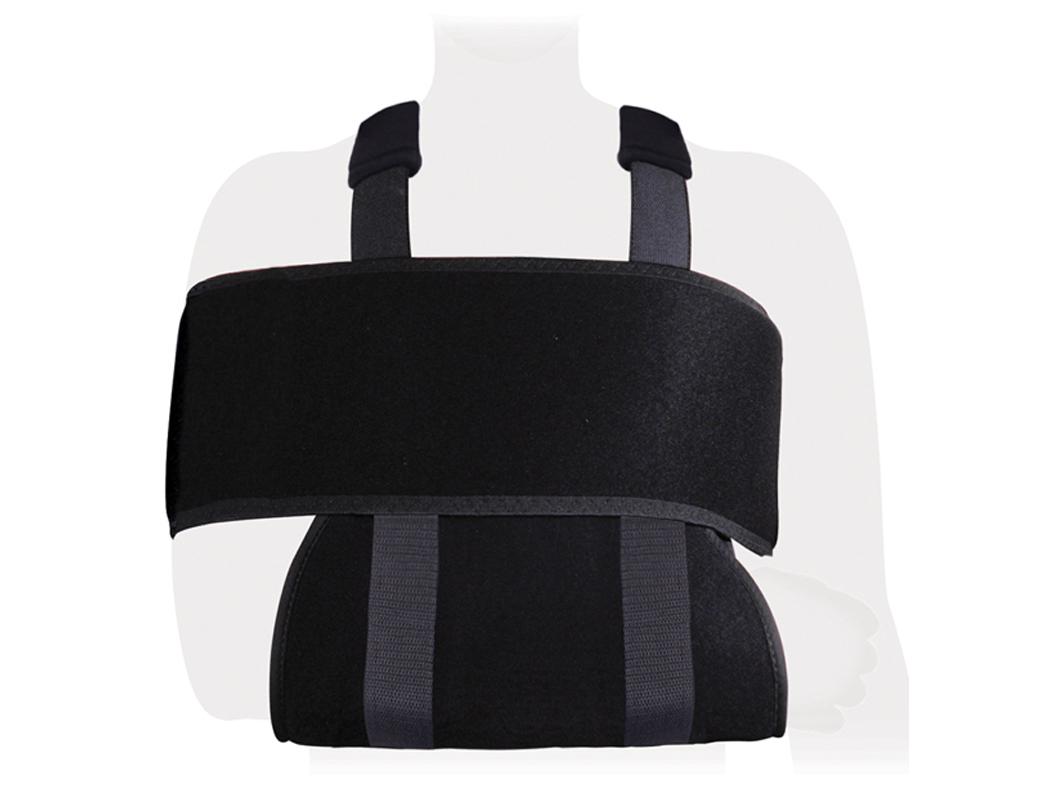 Бандаж на плечевой сустав и руку(Повязка Дезо ФПС-01). Размер 3/LФПС-01 LОсобенности:плотный износоустойчивый воздухороницаемый материал регулируемые по длине лямкиуниверсальный, подходит для левой и правой руки цвет: черныйПоказания к применению:острые и хронические воспалительные заболевания суставов верхних конечностей (артрозы, артриты плечевого сустава, плече- лопаточные периартриты)реабилитация после травм и операций на верхних конечностях Состав:хлопок - 37%полиамид - 56%эластан - 7%(S)обхват грудной клетки вместе с прижатой к груди рукой до95(M)обхват грудной клетки вместе с прижатой к груди рукой до115(L)обхват грудной клетки вместе с прижатой к груди рукой более115