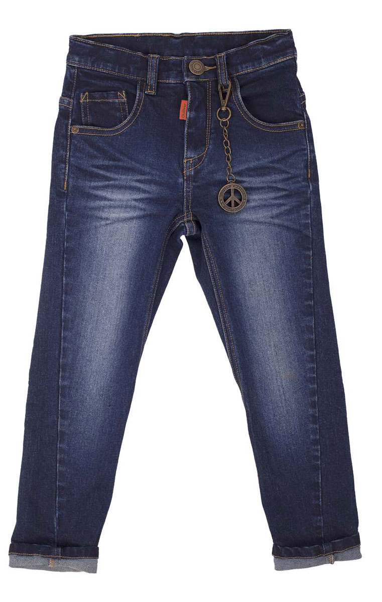 Джинсы для мальчика Gulliver, цвет: синий джинс. 21604BMC6301. Размер 9821604BMC6301Что может быть лучше любимых джинсов? Только новые фирменные джинсы с брендированной фурнитурой и классным металлическим брелоком! Удобный крой, комфортный прямой силуэт, интересное конструктивное решение, модная варка делают джинсы непревзойденной моделью по удобству и функциональности. Купить модные джинсы для мальчика, значит, сделать его образ стильным и современным!