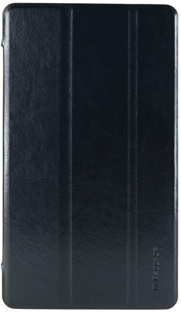 IT Baggage чехол для Huawei Media Pad M3 8.4, BlackITHWM384-1Чехол IT Baggage для планшета Huawei Media Pad M3 8.4 надежно защищает ваше устройство от случайных ударов и царапин, а так же от внешних воздействий, грязи, пыли и брызг. Крышку можно использовать в качестве настольной подставки для вашего устройства. Чехол приятен на ощупь и имеет стильный внешний вид.Он также обеспечивает свободный доступ ко всем функциональным кнопкам планшета и камере.