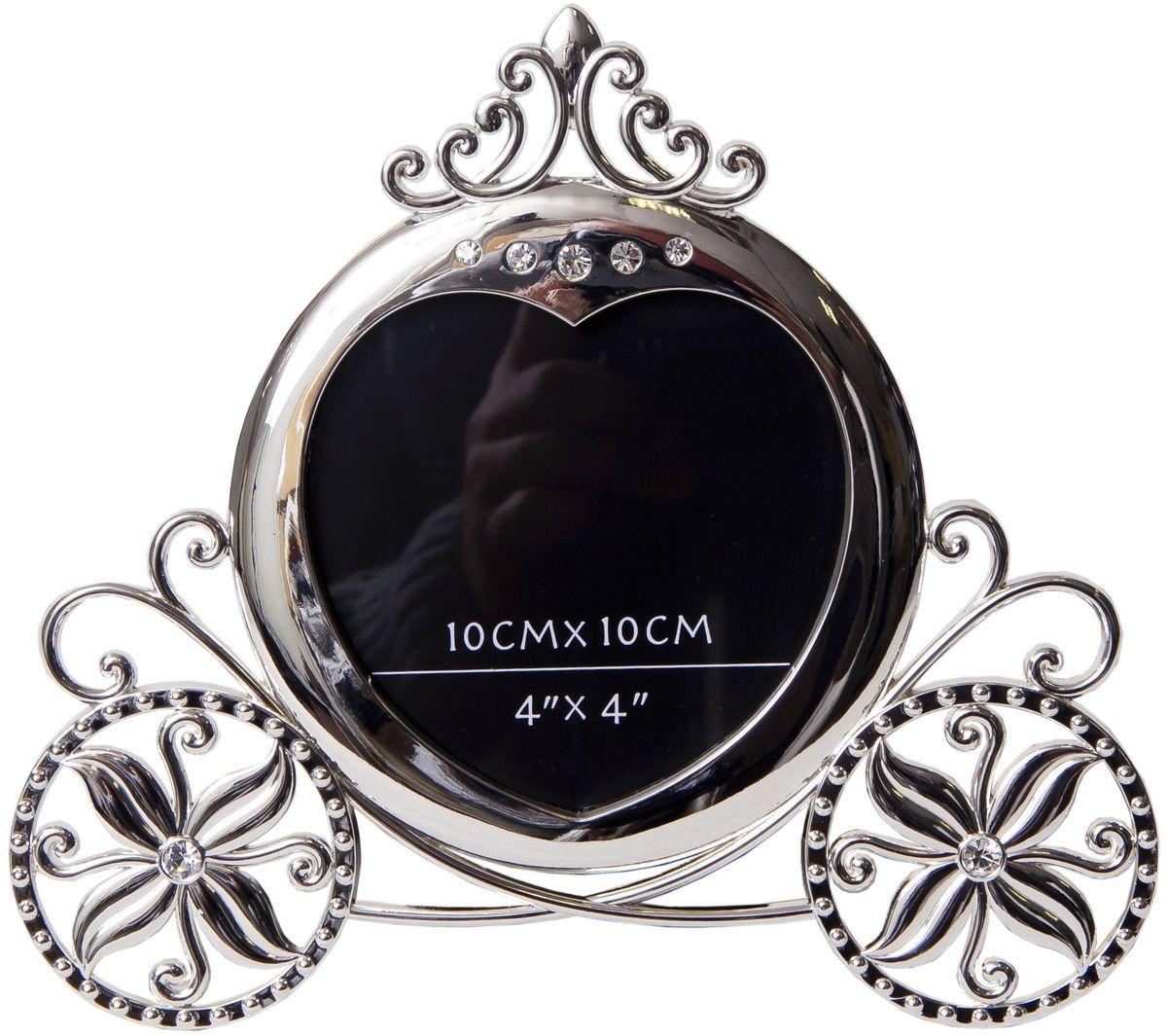 Фоторамка Platinum Карета, 10 х 10 см. PF9873-4 фоторамки русские подарки фоторамка