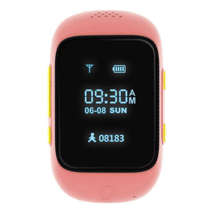 MyRope R12, Rose умные часы с GPS-трекеромR12-PINKMyRope R12 - это умные детские часы, которые позволят родителям всегда оставаться на связи со своим чадом.Точный датчик GPS и возможность установки сим-карты дают возможность в реальном времени узнавать опередвижениях ребенка, а также связаться с ним в случае необходимости.Часы доступных в двух ярких цветовых вариантах - голубом и розовом. На лицевой стороне расположены экран,динамик и небольшое отверстие для микрофона. Слева можно обнаружить слот под микро сим-карту, а такжекнопку включения/SOS, справа - функциональная кнопка приема вызова и кнопка голосового чата.MyRope R12 созданы для того, чтобы вы всегда оставались на связи с ребенком. Вы можете совершить вызов илиотправить голосовое сообщение на часы (совершать звонки могут только те номера, что внесены в списокконтактов часов). К тому же один из родителей может воспользоваться функций скрытого одностороннего звонка,чтобы услышать, что происходит поблизости ребенка.Будьте уверены в безопасности вашего чада, благодаря функции безопасных зон. С помощью специальногомобильного приложения можно установить до 10 безопасных зон с диаметром от 500 до 2000 м. В случае, еслиребенок покинет или войдет в безопасную зону, сработает уведомление. Также в часах присутствует кнопкаSOS, при нажатии на которую более 3-х секунд, активирует вызов на экстренный номер телефона.При помощи встроенного в часы датчика GPS можно моментально узнать о местоположении вашего ребенка наулице, а наличие Wi-Fi модуля позволит с максимальной точностью определять положение ребенка в закрытыхпространствах. А также можно просмотреть историю его перемещений за любую дату в приложении.