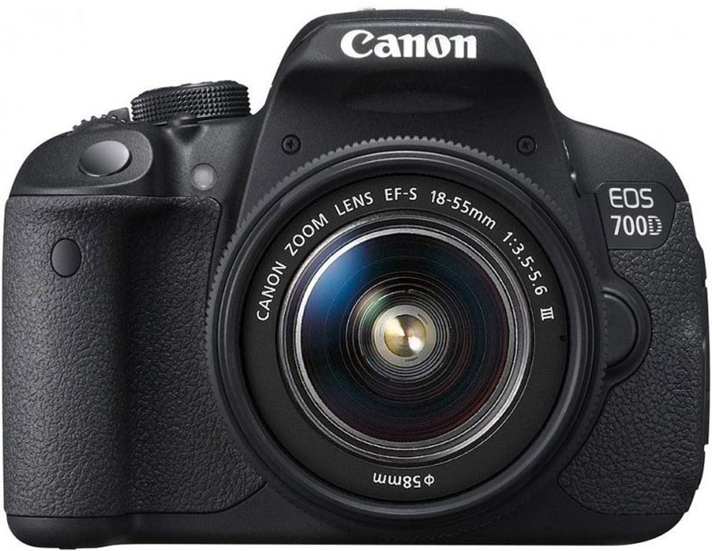 Canon EOS 700D Kit EF-S 18-55 DC III цифровая зеркальная фотокамера цифровая фотокамера canon eos 700d kit 18mpix ef s 18 55mm 8596b095