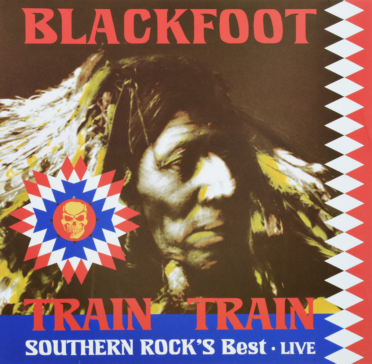 Blackfoot Blackfoot. Train Train, Live (LP)