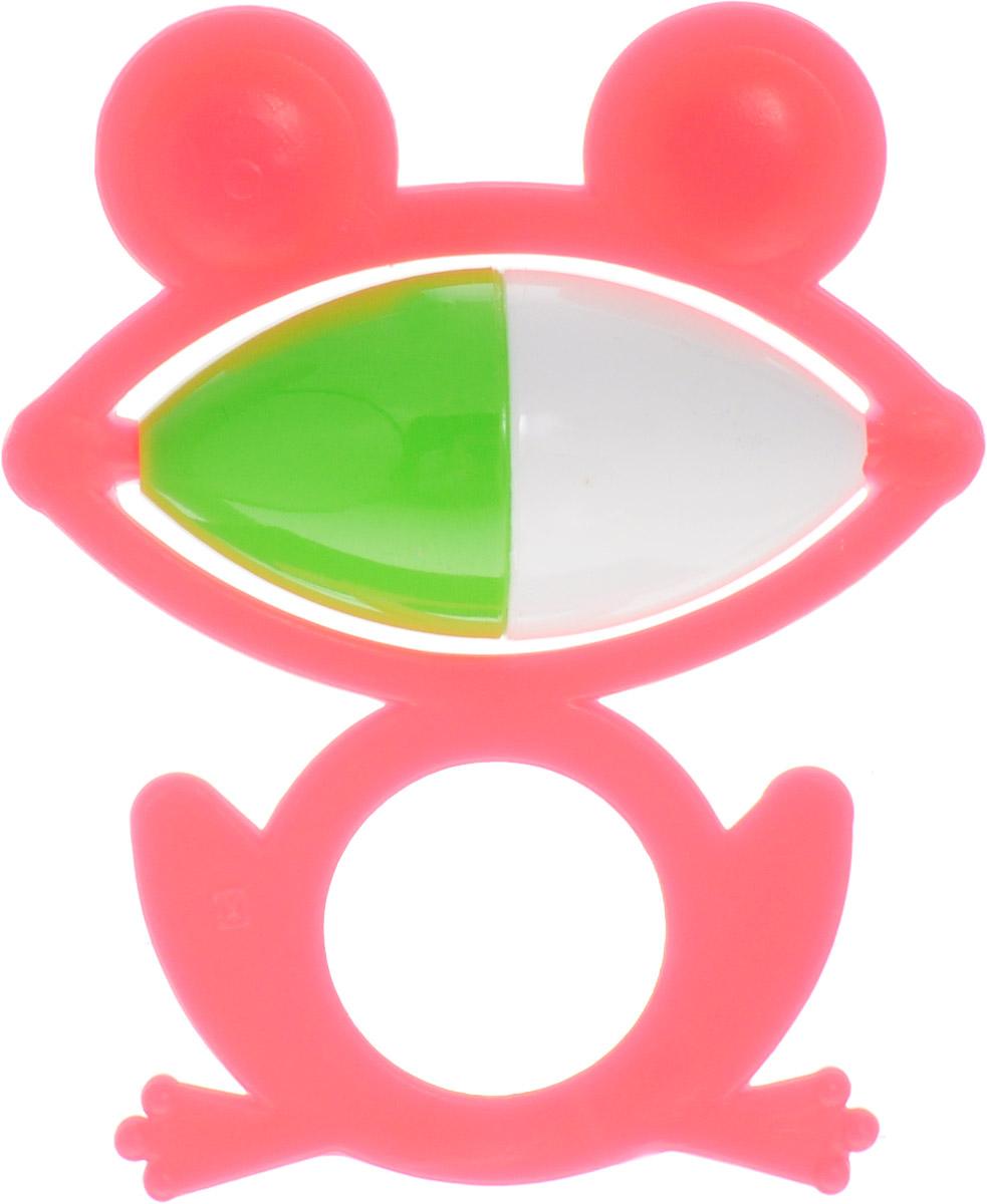 Аэлита Погремушка Лягушонок цвет розовый