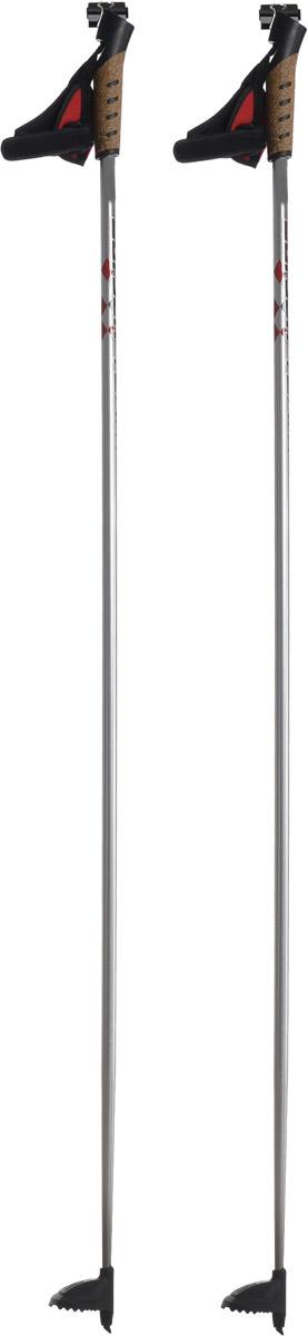 Палки лыжные Larsen Team, алюминиевые, длина 135 см221850-135Спортивные палки Larsen Team - это превосходный выбор для любителей активного катания на лыжах. Модель выполнена из легкого алюминия. Рукоятка выполнена из синтетической пробки и полипропилена, она имеет удобный хват, рука не мерзнет и не скользит по ручке. Гоночный темляк с конструкцией капкан удобно надевается и надежно поддерживает кисть. Облегченная лапка с твердосплавным наконечником не проваливается в снег. Спортивные палки подойдут как начинающим лыжникам, так и опытным спортсменам.Длина палок: 135 см.Как выбрать беговые лыжи. Статья OZON Гид