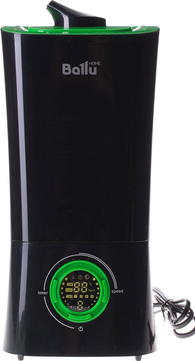 Ballu UHB-205, Black Green ультразвуковой увлажнитель воздухаНС-1070070Каждый увлажнитель воздуха Ballu – это стильный прибор с большим количеством функций и возможностей. В увлажнителе UHB-205 инженеры Ballu объединили все самые востребованные функции, которые интересны и важны потребителю. 3 цветовых решения позволяют подобрать увлажнитель под интерьер. Индикаторы влажности и температуры на LCD–дисплее позволяют установить в комнате правильный климат. Для очистки воды от излишков солей в комплекте идет фильтр-картридж. Индикация дисплея может отключаться, чтобы ничто не мешало спокойному сну. Увлажнитель UHB-205 возьмет на себя все заботы по созданию в доме комфортных условий для жизни.