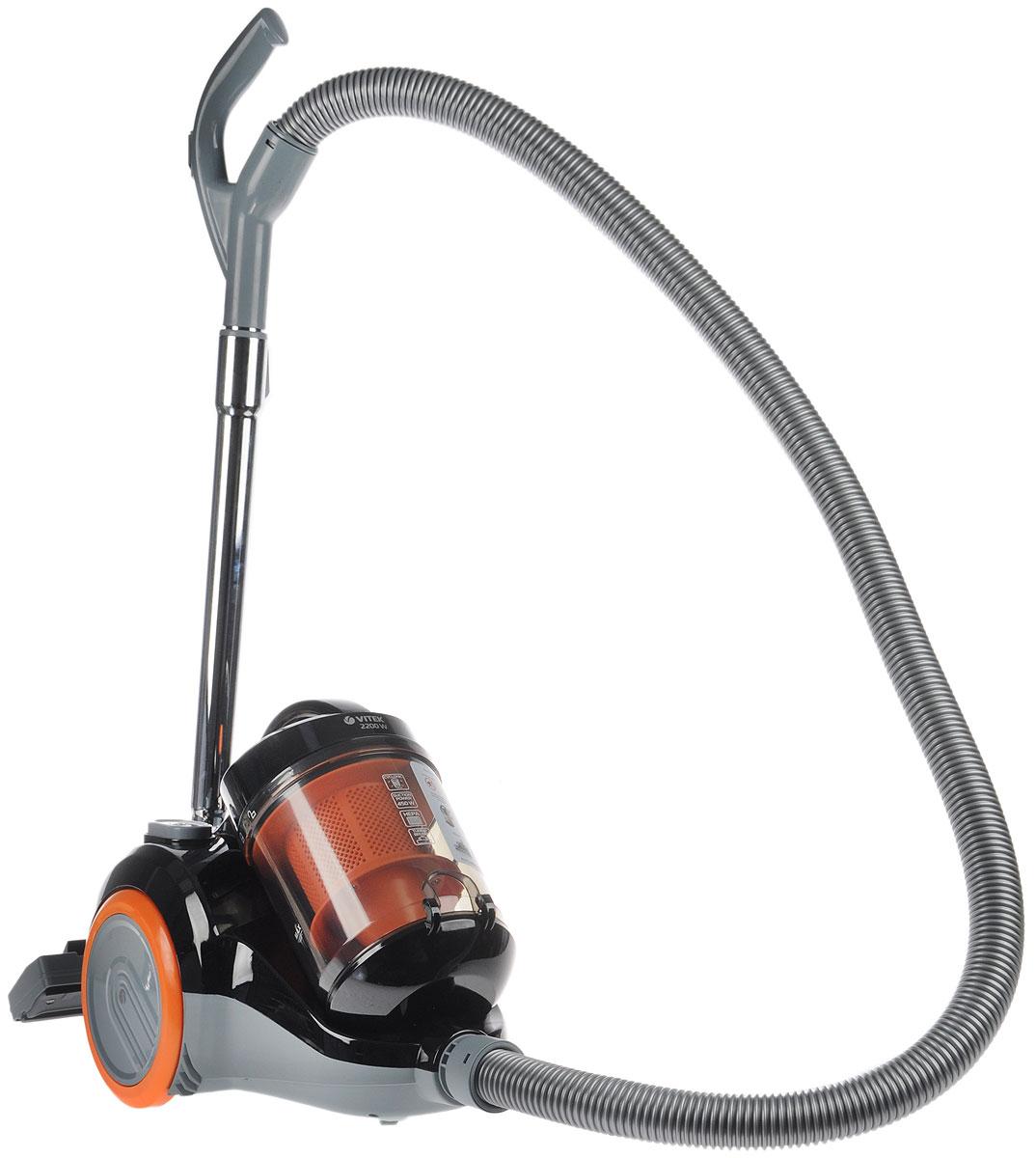 Vitek VT-1826, Black пылесос для чистки и уборки полиэстер