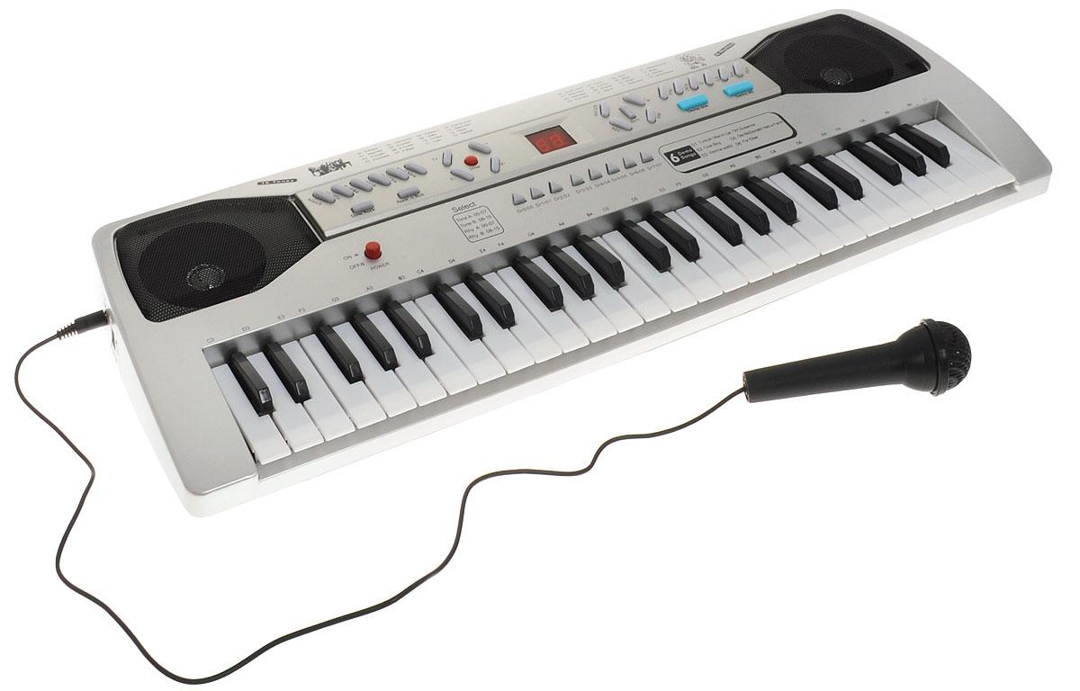 Синтезатор DoReMi, 49 клавиш, с микрофоном. D-00036 синтезатор детский 37 клавиш doremi