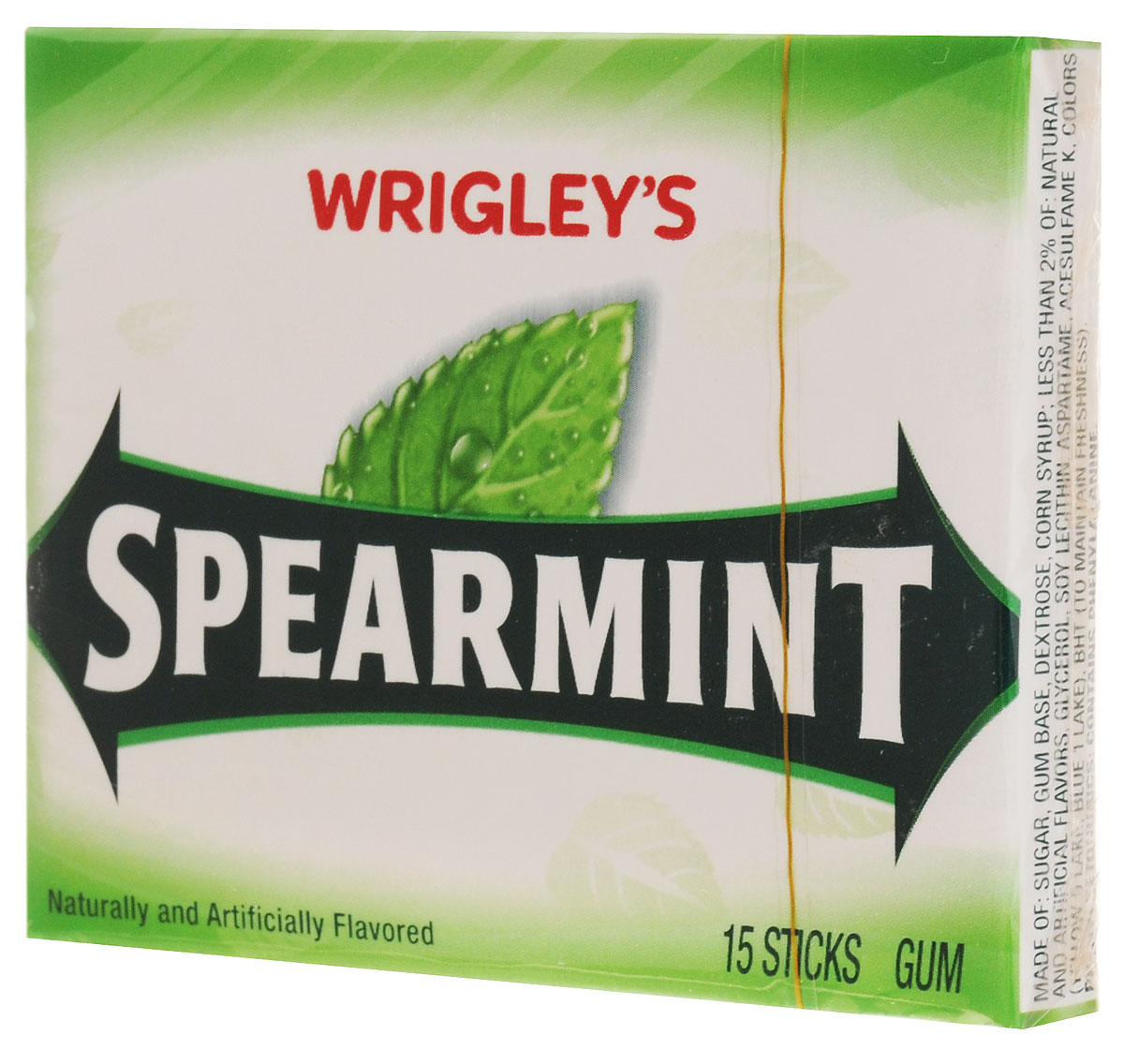 Wrigley's Spearmint жевательная резинка, 40,5 г