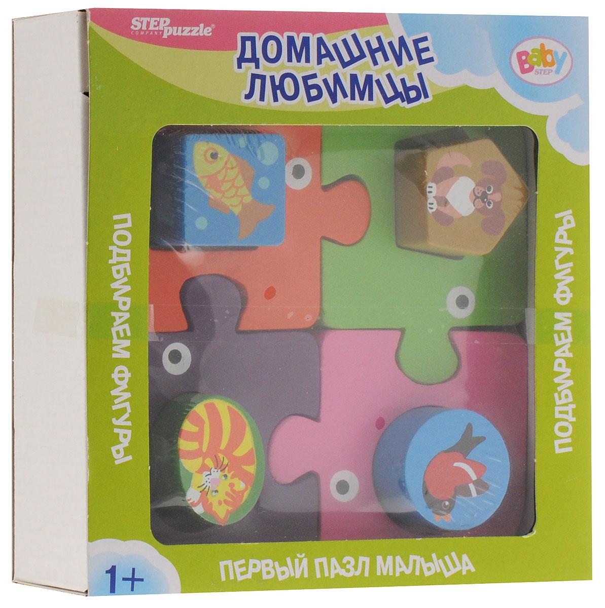 Step Puzzle Пазл для малышей Домашние любимцы