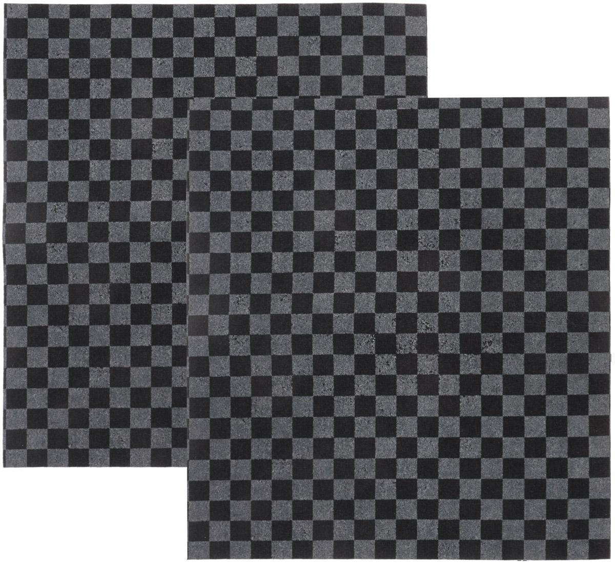 Коврик автомобильный Главдор, в салон, влаговпитывающий, 40 х 45 см, 2 штGL-144-клеткаВлаговпитывающий коврик Главдор применяется в качестве защитной подстилки в салоне автомобиля. Он отлично впитывает влагу. Коврик изготовлен из полипропилена и впитывающего материала. Изделие защитит вашу одежду от грязи и каблуки от расслаивания и стирания о резиновый коврик.В комплект входят два коврика.Размер коврика: 40 х 45 см.