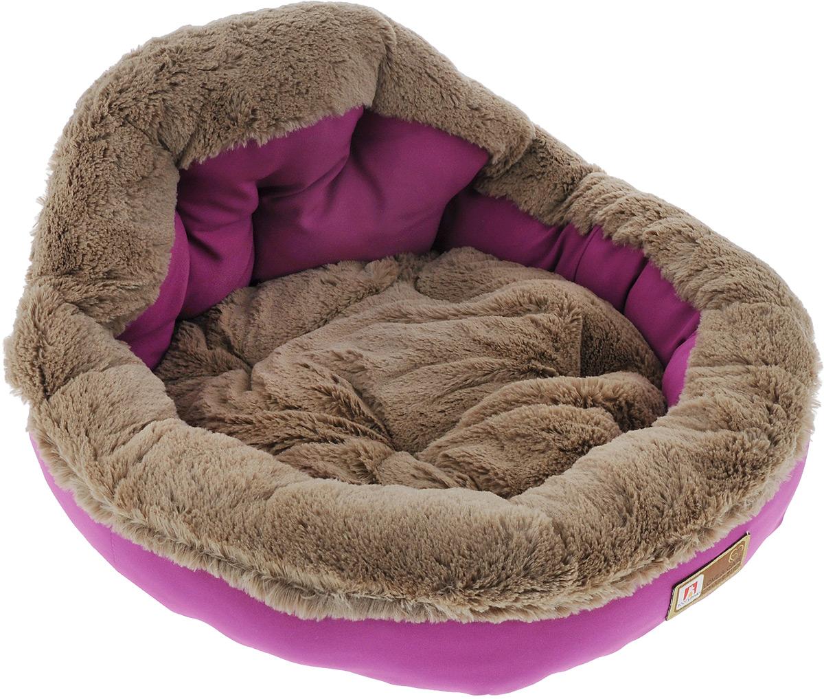 Лежак для собак и кошек Зоогурман Президент, цвет: розовый, 45 см х 45 см х 20 см2182Мягкий и уютный лежак для кошек и собак Зоогурман Президент обязательно понравится вашему питомцу. Лежак выполнен из нежного, приятного материала. Внутри - мягкий наполнитель, который не теряет своей формы долгое время.Внутри лежака съемная меховая подушка. Мягкий, приятный и теплый лежак обеспечит вашему любимцу уют и комфорт. За изделием легко ухаживать, можно стирать вручную или в стиральной машине при температуре 40°С. Материал бортиков: микроволоконная шерстяная ткань.Материал спинки и матрасика: искусственный мех.Наполнитель: гипоаллергенное синтетическое волокно.Размер: 45 см х 45 см х 20 см.
