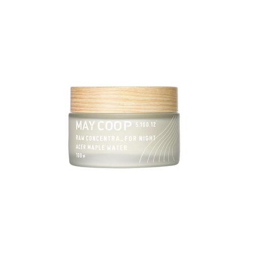 May Coop Ночной ультрапитательный крем для активной ревитализации кожи Raw Concetra For Night 50 мл58735Ультрапитательный крем создан для активной стимуляции естественного восстановительного процесса кожи в ночное время, дополняя ваш вечерний ритуал красоты. Уникальная формула на 80% состоит из весеннего сока кленового дерева, молекулы которого обладают способностью глубоко проникать в кожу, достигая эффекта ревитализации и насыщения влагой. Специальная рецептура, включающая экстракты риса, соевых бобов, женьшеня, софоры, сквалан и другие ценные компоненты, интенсивно восстанавливает эластичность, активируя образование новых коллагеновых волокон в коже. Кожа приобретает упругость, здоровый цвет лица, сияние красоты и молодости.
