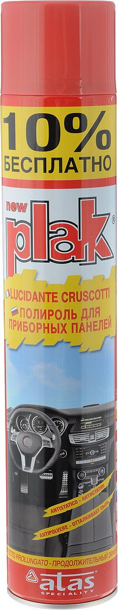 Полироль для приборных панелей Plak Гранат, 750 мл полирующее молочко atas plak 2r для пластика дерева резины и мрамора 750 мл