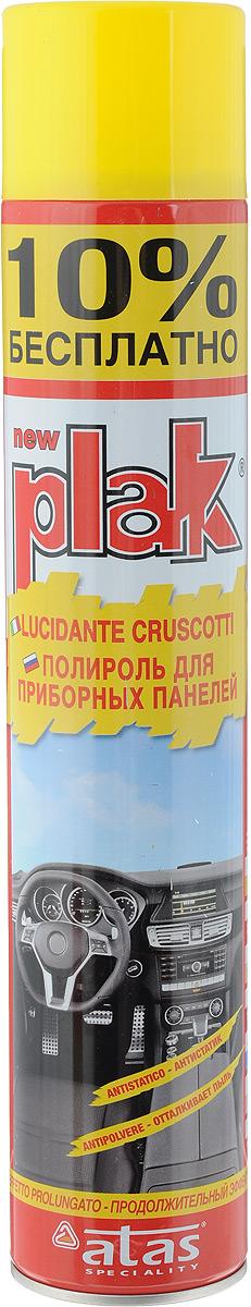 Полироль для приборных панелей Plak Лимон, 750 мл5160Полироль Plak Лимон предназначен для панели приборов, содержит освежитель воздуха продленного действия. Возвращает первоначальный блеск всем пластмассовым, виниловым и резиновым элементам отделки салона автомобиля, создавая на поверхности стойкий антистатический слой, отталкивающий пыль и грязь. Также полироль позволяет создать глянцевое покрытие. Товар сертифицирован.
