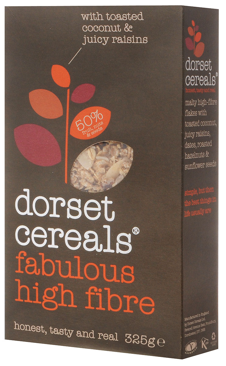 Dorset Cereals Super High Fibre мюсли, 325 г dorset cereals