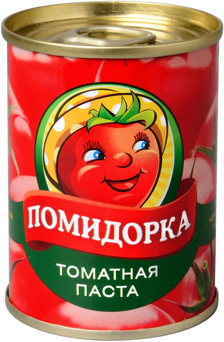 Помидорка Томатная паста, 140 г2249Томатная паста Помидорка - гармоничный продукт с оригинальным свежим вкусом, насыщенным цветом и ароматом.В ней отсутствуют искусственные пищевые добавки - это полностью натуральный продукт. Томатная паста Помидорка очень густая (содержит более 25-28% сухих веществ) и приготовлена только из помидоров.
