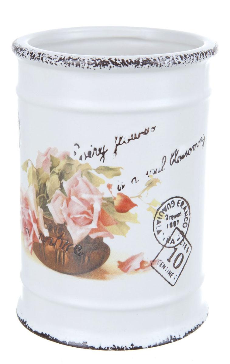 Подставка для кухонных принадлежностей ENS Group Чайная роза ens group шкатулка чайная роза 10х18х18 см