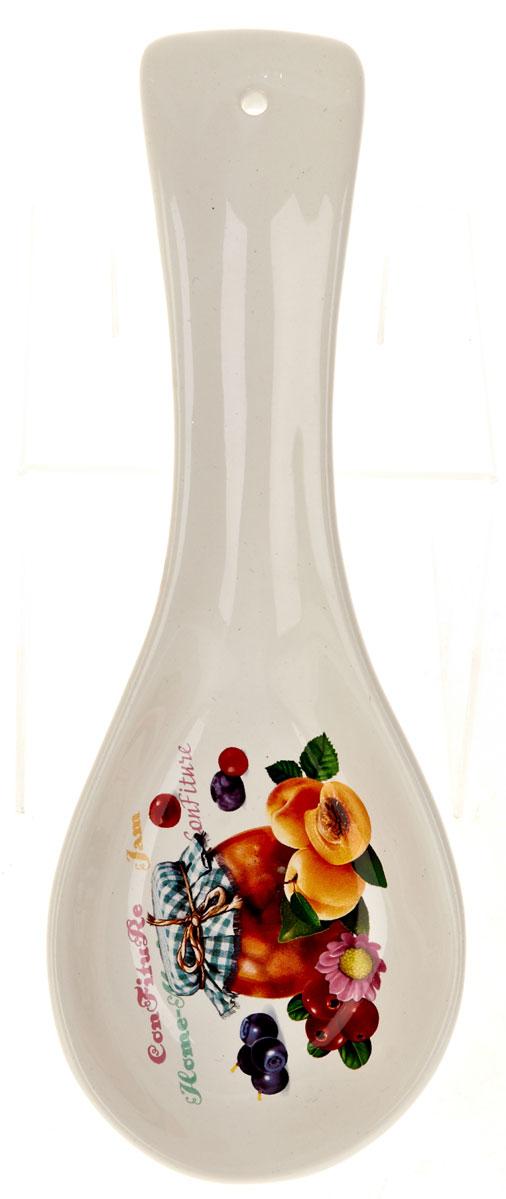 Подставка под ложку Polystar Джем, длина 23 смL2430684Подставка для ложки Джем изготовлена из прочного доломита высокого качества. Данное изделие оформлено красочным дизайном и имеет стильный внешний вид. Подставка предназначена для поддержания чистоты на кухонном столе при приготовлении пищи.Поставьте ее рядом с плитой, и кладите на подставку ложку, половник или лопатку, которыми вы помешиваете блюда.