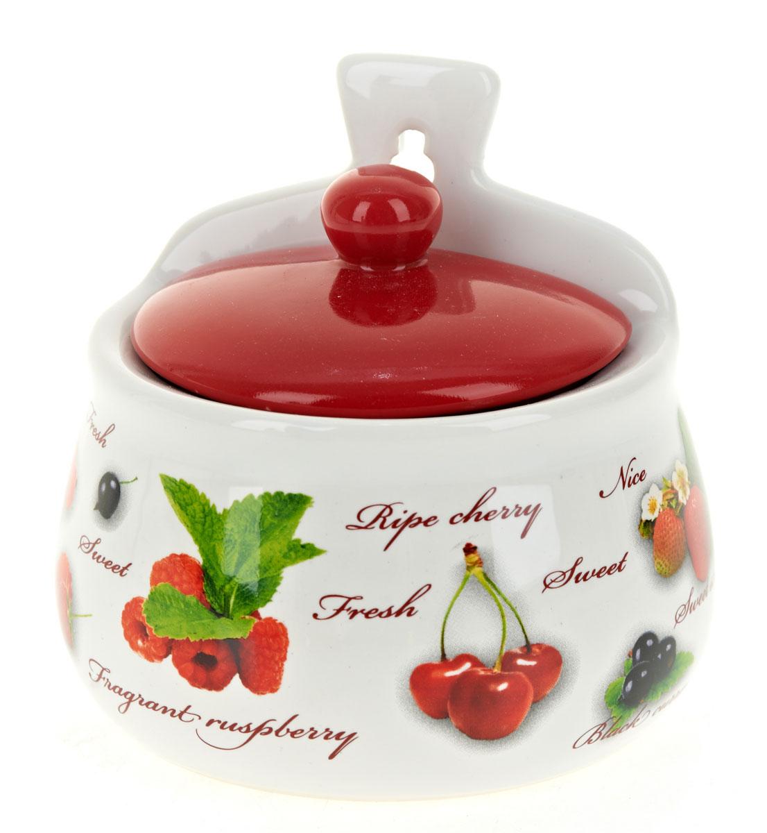 Солонка Polystar Садовая ягода, 500 млL2520273Оригинальная солонка Садовая ягода изготовлена из высококачественной керамики. Изделие имеет отверстие для подвешивания. Солонка украсит любую кухню и подчеркнет прекрасный вкус хозяина.Объем: 500 мл.
