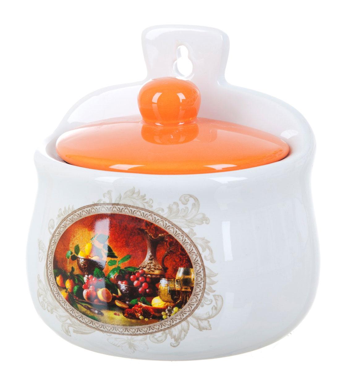 Солонка Polystar Севилья, 450 млL2520562Оригинальная солонка Севилья изготовлена из высококачественной керамики. Изделие имеет отверстие для подвешивания. Солонка Polystar Севилья украсит любую кухню и подчеркнет прекрасный вкус хозяина.Объем: 450 мл.