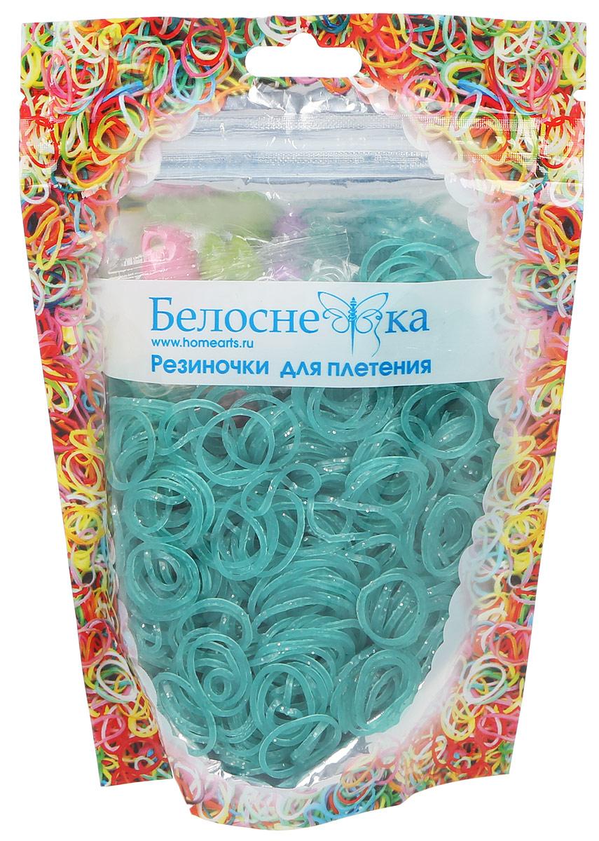 Белоснежка Резиночки для плетения 1000 шт цвет темно-зеленый