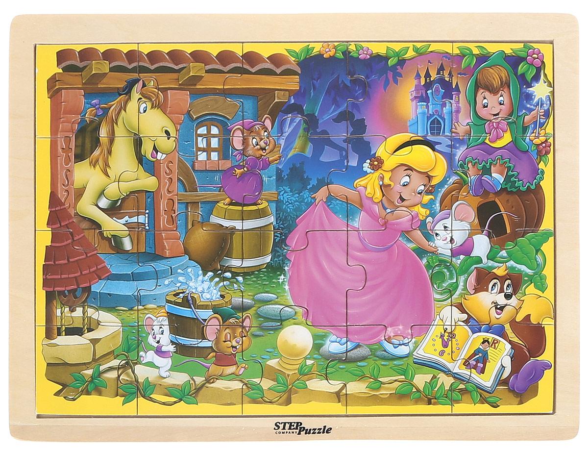 Step Puzzle Пазл для малышей Золушка step puzzle пазл для малышей сандро боттичелли рождение венеры
