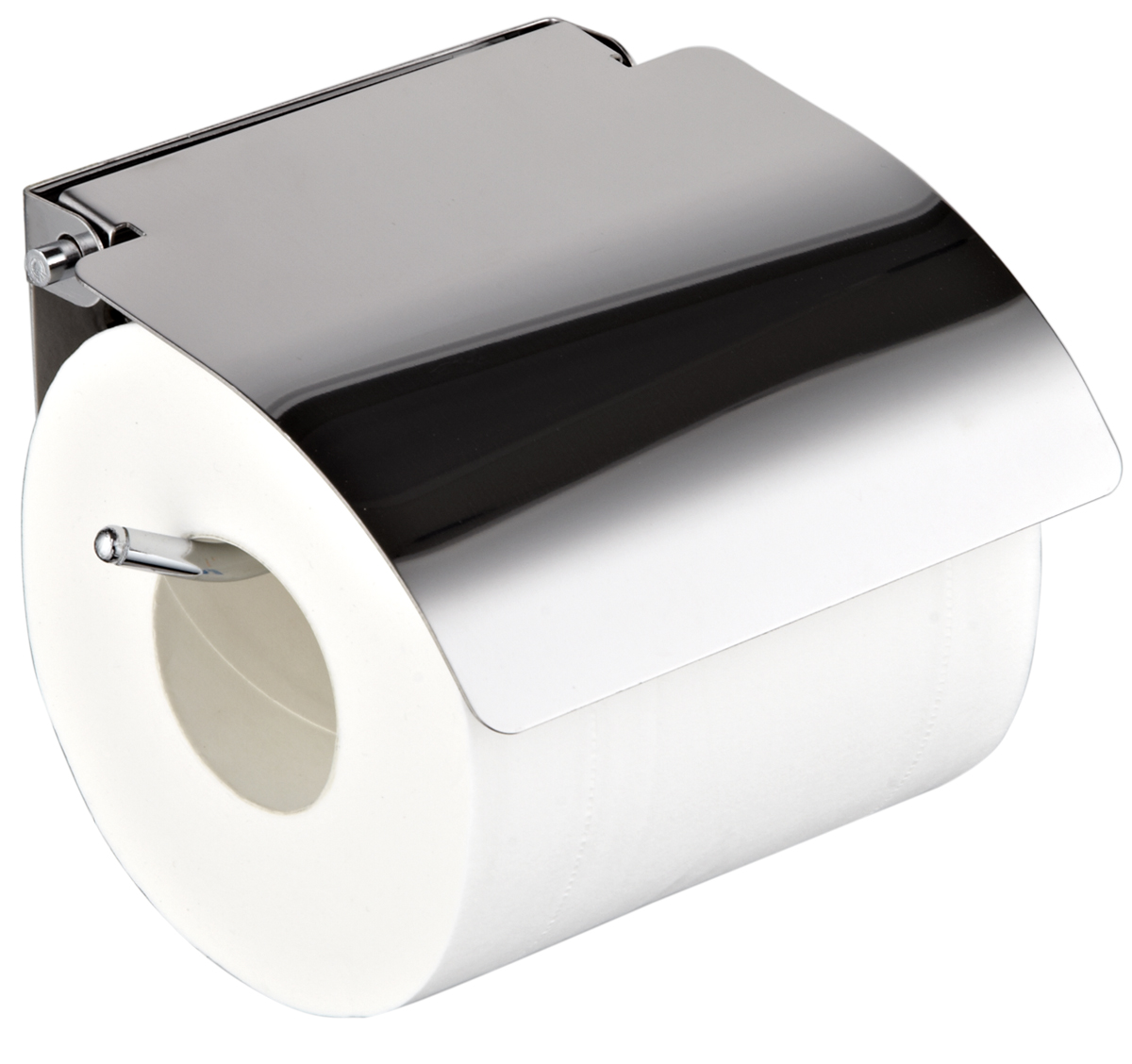 Держатель для туалетной бумаги РМС, цвет: хром. A3021A3021Держатель для т/бумаги,крепление к стене, хромированный цвет