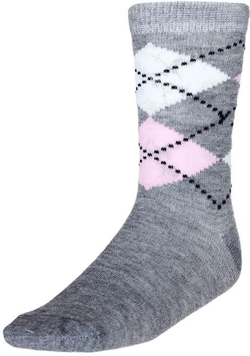 Носки для девочки Baykar, цвет: серый меланж, мультиколор, 2 пары. 330812-82. Размер 18,5/20, 7 лет330812-82Носки для девочки Baykar изготовлены из высококачественного эластичного хлопка с добавлением полиамида. Эластичная резинка в паголенке плотно облегает ногу, не сдавливая ее, обеспечивая комфорт и удобство. В комплект входят 2 пары носков.