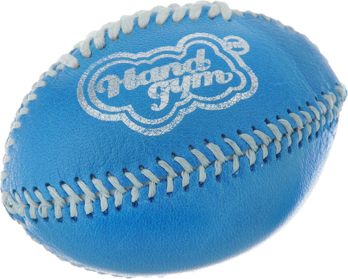 Эспандер кистевой HandGum HandGym. Регби, цвет: голубой, 7 х 5 х 5 см эспандер кистевой handgum handgym цвет красный диаметр 5 см