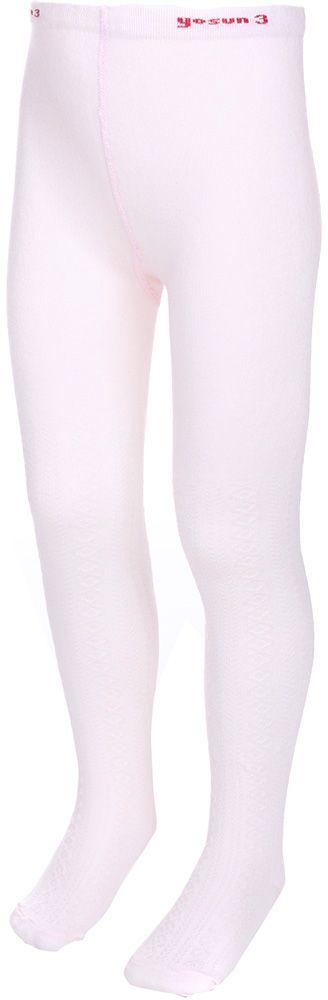Колготки для девочки Baykar, цвет: розовый. 682713-5. Размер 128-134, 9 лет682713-5Колготки для девочки Baykar выполнены из высококачественного эластичного хлопка с добавлением полиамида, мягкого и нежного на ощупь. Колготки с эластичной резинкой на поясе дополнены фактурным принтом. Идеально смотрятся на ножке.