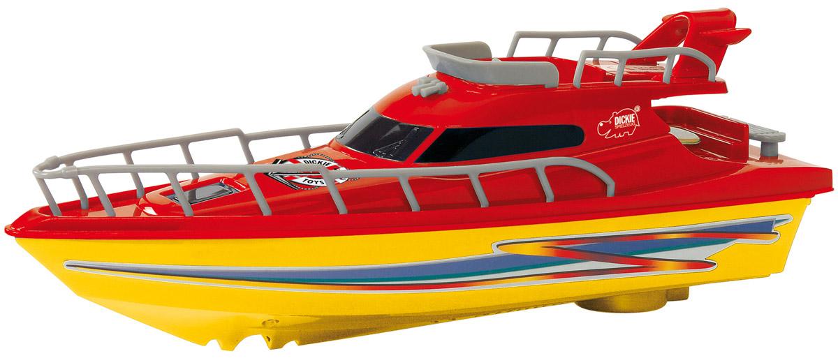 Dickie Toys Яхта Ocean Dream цвет желтый красный игровые наборы dickie игровой набор аэропорт