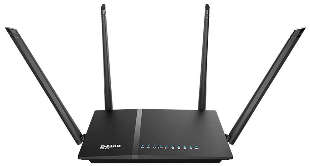 D-Link DIR-825/AC/G1A маршрутизаторDIR-825/AC/G1AМаршрутизатор D-Link DIR-825/AC/G1A поддерживает новейший стандарт IEEE 802.11ac. Маршрутизаторадаптирован для работы в сети любого интернет-провайдера. Высокие скорости интернет-подключения ибеспроводного соединения, одновременная работа в двух диапазонах частот, наличие многофункциональногоUSB-порта, современный функционал безопасности – все это позволяет организоватьвысокопроизводительную сеть и комфортно работать с такими требовательными приложениями, как потоковоевидео, онлайн-игры и видеоконференции по Skype.Вы можете быстро организовать высокоскоростную беспроводную сеть дома и в офисе, предоставив доступ ксети Интернет компьютерам и мобильным устройствам практически в любой точке (в зоне действиябеспроводной сети). Одновременная работа в диапазонах 2,4 ГГц и 5 ГГц позволяет использоватьбеспроводную сеть для широкого кругазадач. Маршрутизаторможетвыполнятьфункциибазовойстанции дляподключениякбеспроводнойсетиустройств, работающих по стандартам 802.11a, 802.11b, 802.11g, 802.11n и802.11ac.Возможность настройки гостевой Wi-Fi-сети позволит вам создать отдельную беспроводную сеть синдивидуальными настройками безопасности и ограничением максимальной скорости. Устройства гостевойсети смогут подключиться к Интернету, но будут изолированы от устройств и ресурсов локальной сетимаршрутизатора.Функция интеллектуального распределения Wi-Fi-клиентов будет полезна для сетей, состоящих из несколькихточек доступа или маршрутизаторов D-Link – настроив работу функции на каждом из них, Вы обеспечитеподключение клиента к точке доступа с максимальным уровнем сигнала.В маршрутизаторе реализовано множество функций для беспроводного интерфейса. Устройствоподдерживает несколько стандартов безопасности (WEP, WPA/WPA2), фильтрацию подключаемых устройств поMAC-адресу, а также позволяет использовать технологии WPS и WMM.Кроме того, устройство оборудовано кнопкой для выключения/включения Wi-Fi-сети. В случае необходимости,например, уезжая и