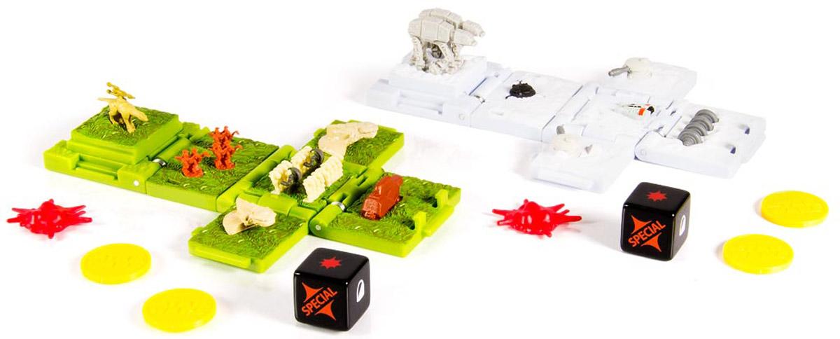 Star Wars Боевые кубики Battle of Naboo & Battle of Hoth транспорт нескучный кубик для равития интеллекта 2 кубика