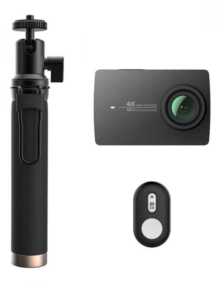 Xiaomi YI 4K Travel Edition, Black экшн-камера - Цифровые видеокамеры